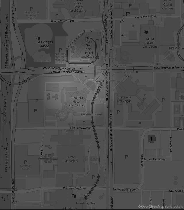Footer Site Map: Excalibur Hotel & Casino: Las Vegas